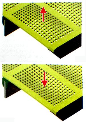 Поведение эластичной поверхности мембранного сита при вертикальных колебаниях
